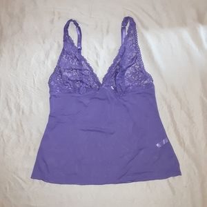 La Vie en Rose purple camisole size M